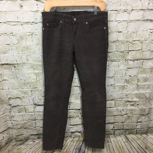 Gap Brown Skinny Corduroy Pants N4